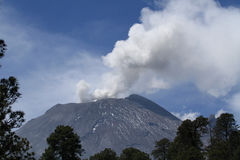 Popocatepetl Volcan near Mexico City Royalty Free Stock Photo