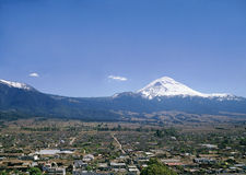 Popocatepetl Volcano Royalty Free Stock Photography