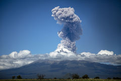 Popocatepetl Volcano Explosion photos libres de droits