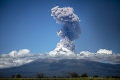 Popocatepetl Volcano Explosion Royalty Free Stock Photos