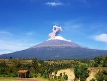 Popocatepetl. Volcano, México, Puebla, sky Royalty Free Stock Images