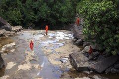 Popokvil Waterfall, Kep Royalty Free Stock Photos