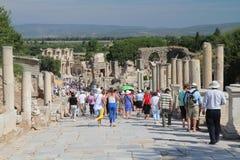 Popolarità di Ephesus Fotografie Stock