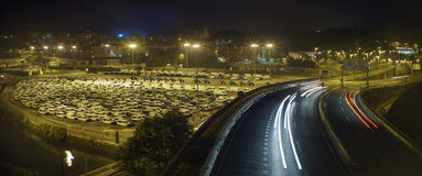 Popolazione dell'automobile Fotografia Stock Libera da Diritti