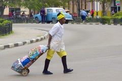 Popolazioni autoctone a Avana, Cuba Fotografia Stock Libera da Diritti