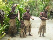 Popolazioni autoctone nel Vanuatu Fotografia Stock Libera da Diritti