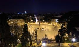 popolo del аркады ноча Италия rome Стоковое Изображение RF