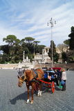 Popolo square Rome Royalty Free Stock Image