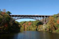 Popolopen Bridge. Between Fort Montgomery & Bear Mountain, NY Royalty Free Stock Photos
