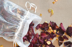 Popourri dried flowers petals Stock Photos