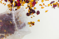 Popourri dried flowers petals Stock Photo