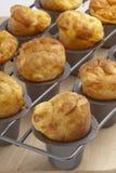 Popovers cocidos al horno Foto de archivo libre de regalías