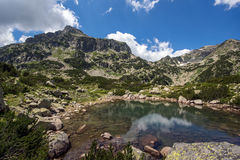 Popovo See, Pirin-Berg stockfoto