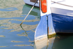 Poppa della barca Fotografie Stock Libere da Diritti