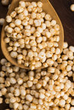 Poppa för Quinoa fotografering för bildbyråer