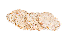The popped buckwheat slices Royalty Free Stock Image
