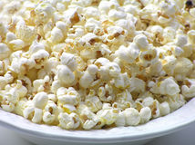 Popped popcorn Stock Photo