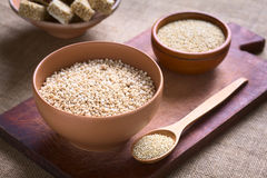Popped Quinoa Cereal Stock Image