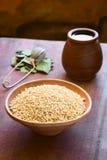 Popped Quinoa Royalty Free Stock Photos