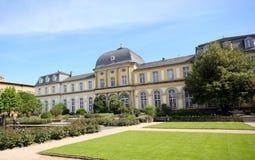 Poppelsdorf宫殿在波恩 库存图片