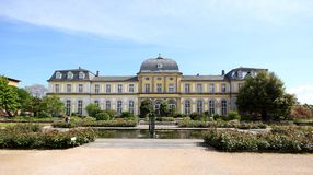 Poppelsdorf Palace in Bonn Royalty Free Stock Photo