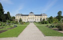 Poppelsdorf slott i Bonn Arkivbild