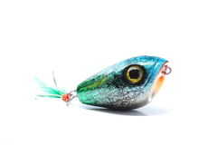 Popper style on Kra-ten bait Stock Image