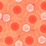 Poppie field pattern Royalty Free Stock Photography