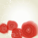 Poppies background Royalty Free Stock Images