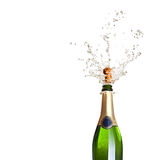 Popping champagne Royalty Free Stock Photos