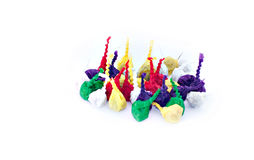 Popping firecrackers for children or 'Pop-pop'. Royalty Free Stock Image