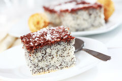 Poppy cake Stock Photography