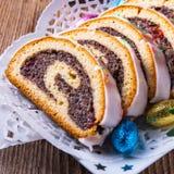 Poppy cake Stock Images