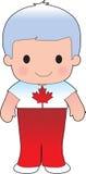Poppy Canadian Boy Lizenzfreies Stockbild