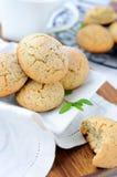 Poppy cookies Stock Images