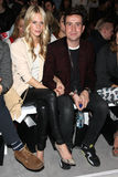 Poppy Delevigne, Nick Grimshaw, Henry Harris Royalty Free Stock Photography