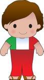Poppy Italian Boy Lizenzfreie Stockfotografie