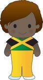 Poppy Jamaica Boy Lizenzfreie Stockbilder