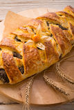 Poppy - marzipan plaited loaf Royalty Free Stock Photography