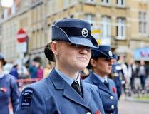 Poppy Parade in Ypres Royalty Free Stock Photos