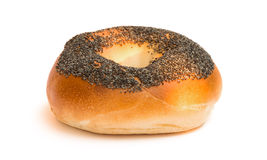 Poppy seed bagel Stock Photo