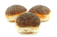 Poppy seed bread Royalty Free Stock Image