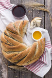 Poppy seed bread Stock Photo