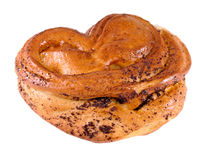 Poppy seed bun Stock Photography