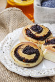Poppy seed buns Stock Photography