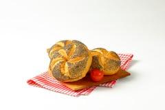 Poppy seed buns Stock Image
