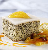 Poppy seed cake Stock Photography