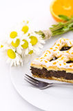 Poppy-seed cake Stock Photo