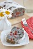 Poppy Seed Cake imagem de stock royalty free