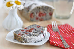 Poppy Seed Cake fotos de stock royalty free